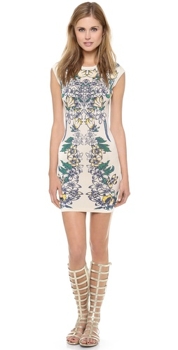 BCBGMAXAZRIA Ellena Printed Dress at Shopbop / East Dane