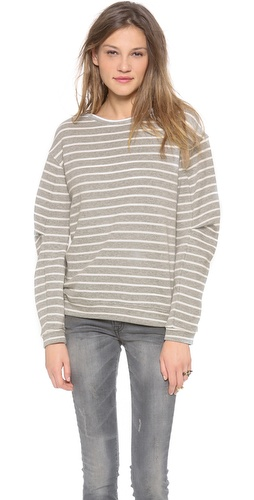 BCBGMAXAZRIA Stripe Pullover at Shopbop / East Dane
