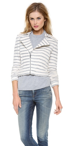 BCBGMAXAZRIA Stripe Jacket at Shopbop / East Dane