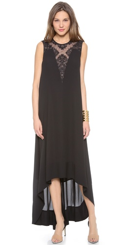 BCBGMAXAZRIA Denisa High Low Dress at Shopbop / East Dane