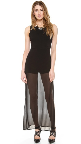 Bcbgmaxazria Kenzi Maxi Dress - Black at Shopbop / East Dane