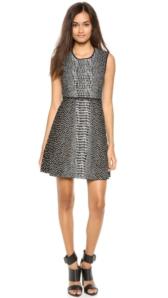 Bcbgmaxazria Dina Dress - Black Combo at Shopbop / East Dane