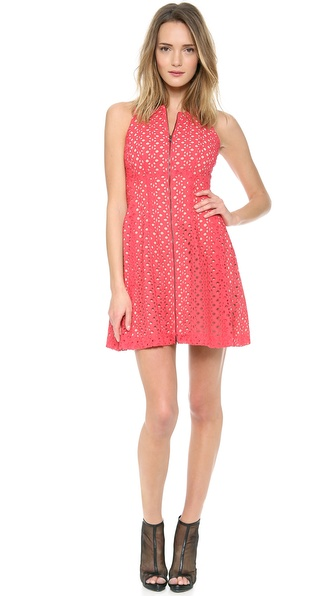 Bcbgmaxazria Guilianna Dress - Lipstick Red at Shopbop / East Dane