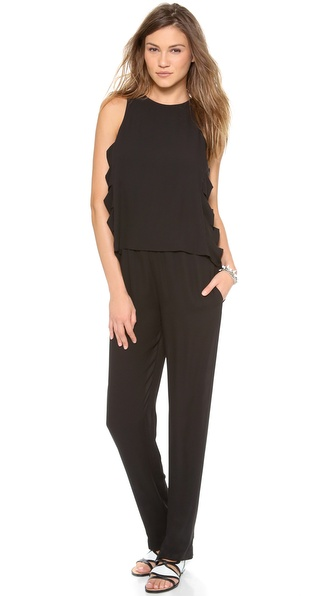 Bcbgmaxazria Callison Jumpsuit - Black at Shopbop / East Dane