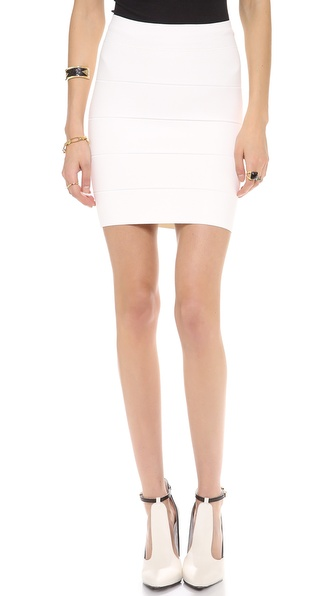 Bcbgmaxazria Simone Bandage Skirt - Gardenia at Shopbop / East Dane