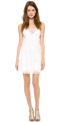 BCBGMAXAZRIA Jasanna Lace Dress at Shopbop / East Dane