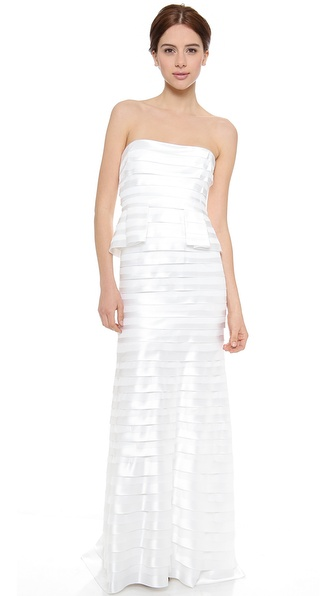 BCBGMAXAZRIA Rose Gown