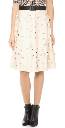 BCBGMAXAZRIA Elsa Faux Leather Skirt at Shopbop / East Dane
