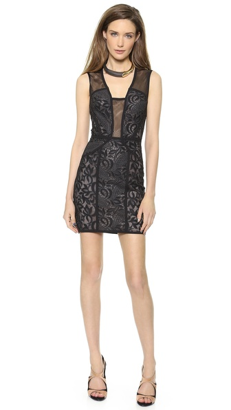 BCBGMAXAZRIA Lyla Open Back Dress