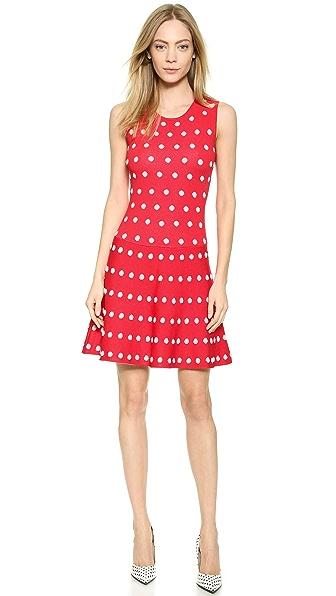 Kupi BCBGMAXAZRIA haljinu online i raspordaja za kupiti Bcbgmaxazria Jo Dress Red Berry Combo online