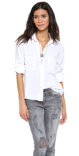 Bella Dahl Chambray Button Down at Shopbop / East Dane