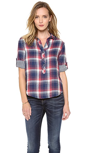 Bella Dahl Long Sleeve Placket Shirt