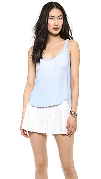 Bella Dahl Scoop Neck Tank