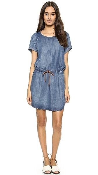 Kupi Bella Dahl haljinu online i raspordaja za kupiti Bella Dahl Raglan T-Shirt Dress Evening Mist Wash online