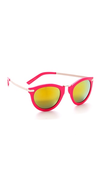 Beach Riot The Superior Sunglasses - Barbie at Shopbop / East Dane
