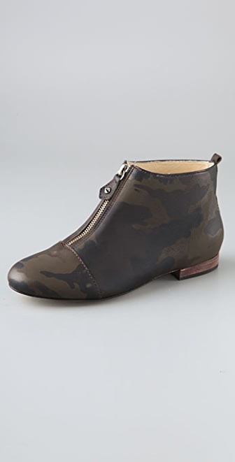 BE & D Cheshire Camouflage Zip Booties