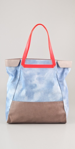 BE & D Nixie Denim Tote