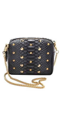 BE & D Pippa Python Cross Body Bag