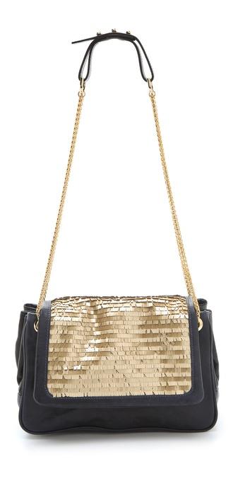 BE & D Catherine Sequin Shoulder Bag