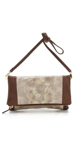 BE & D Sophie Fold Over Clutch