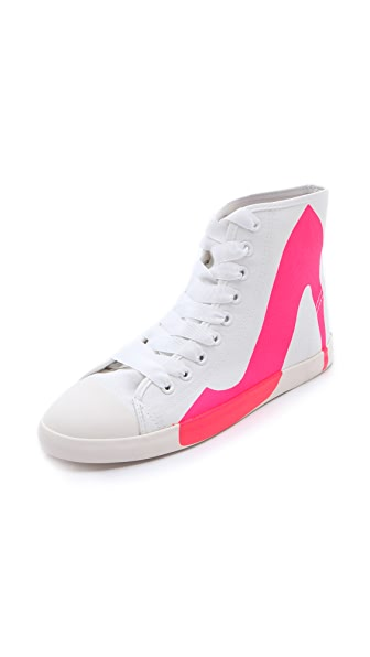BE & D Brightlight High Top Sneakers