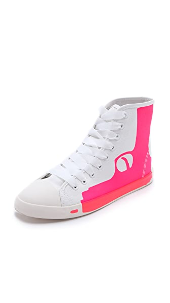 BE & D Pistol High Top Sneakers