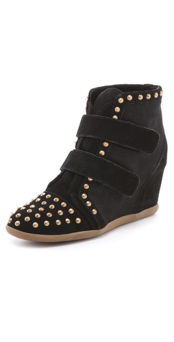 Shop BE & D Hey Stud Wedge Sneakers online and buy BE & D latest season - Footwear, Womens, Footwear, Sneakers,  online shop
