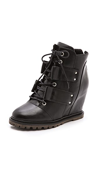 BE & D Knightsbridge Wedge Booties