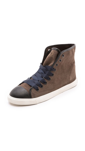 BE & D Ollie Suede Sneakers