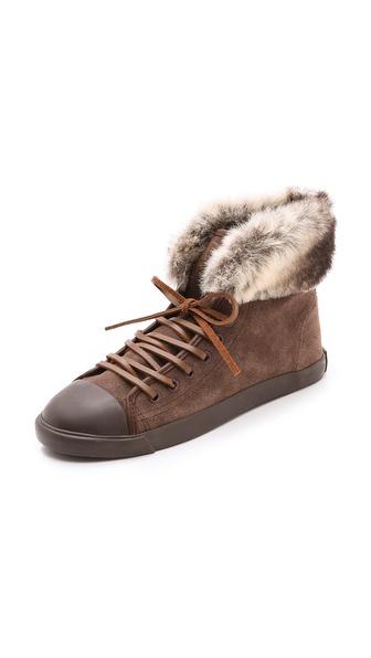BE & D Maison Dumain Fredrik Suede Sneakers