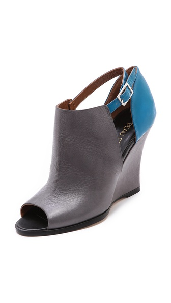 Beau Coops Crywolf Cutout Colorblock Booties