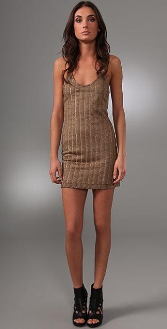 Bec & Bridge Dune Metallic Slip Dress