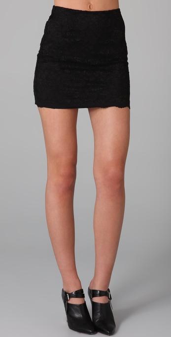 Bec & Bridge La Femme Lace Skirt