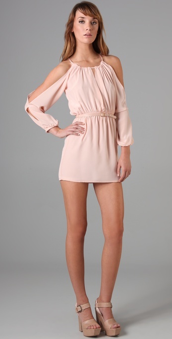 Bec & Bridge La Femme Long Sleeve Dress