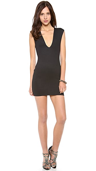 Bec & Bridge Reversible Rib V Dress