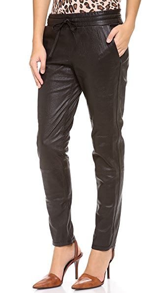 Bec & Bridge Leather Pants