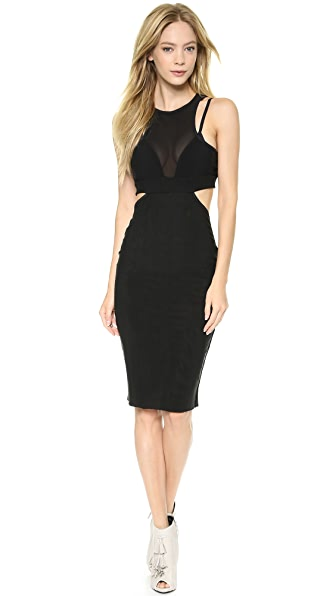 Bec & Bridge Kathy Mesh Body Dress