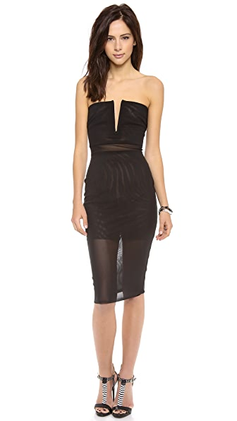 Bec & Bridge Kathy Strapless Dress