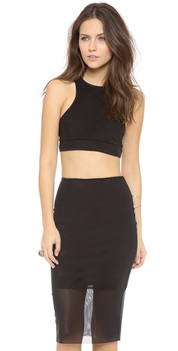 Bec & Bridge Kathy Mesh Crop Top at Shopbop / East Dane