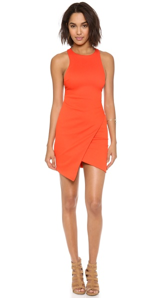 Bec & Bridge Isis Angle Dress - Tangerine