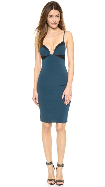 Bec & Bridge Mercury Mesh Body Dress