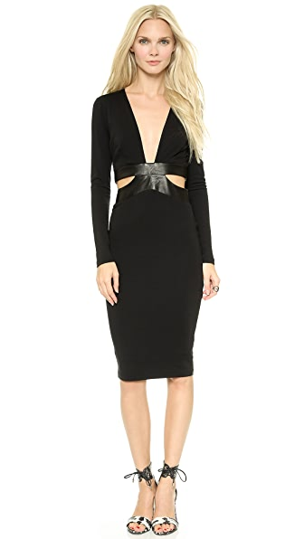 Bec & Bridge Camino Long Sleeve Dress