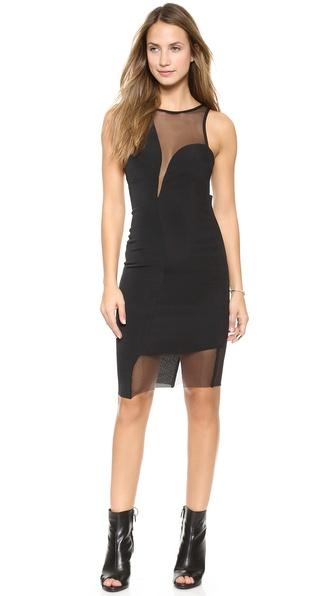 Shop Bec & Bridge online and buy Bec & Bridge Layla Body Dress Black online