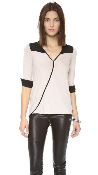 Bella Luxx Twisted Wrap Top