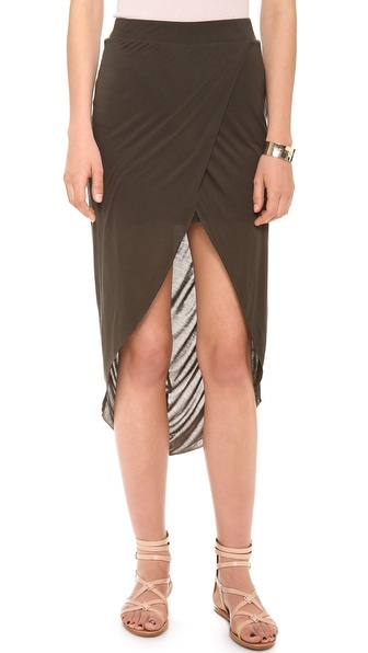Bella Luxx Gathered Back Tulip Skirt