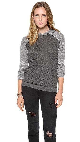 Bella Luxx Fleece / Waffle Knit Sweatshirt