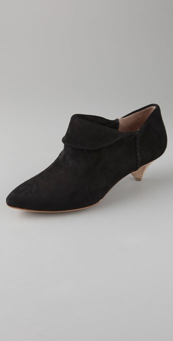 Belle by Sigerson Morrison Suede Cuff Booties
