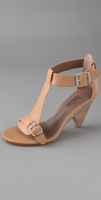 Belle by Sigerson Morrison Buckle T Strap Sandals