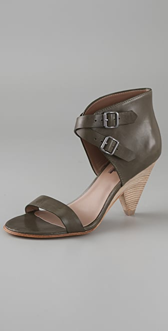 Belle by Sigerson Morrison Ankle Cuff High Heel Sandals