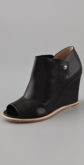 Belle by Sigerson Morrison Open Toe Wedge Booties
